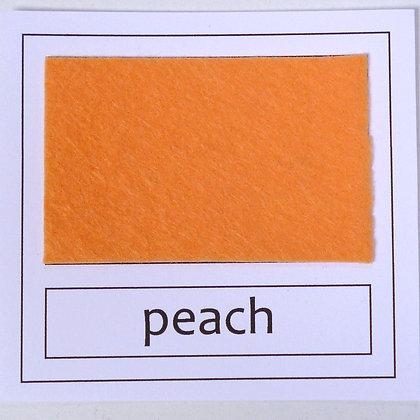 """Die Cut Pack :: 1"""" circles :: Peach"""