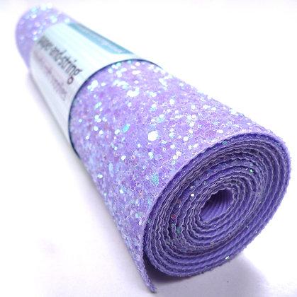 Chunky Glitter mini roll :: Lilac Sparkle