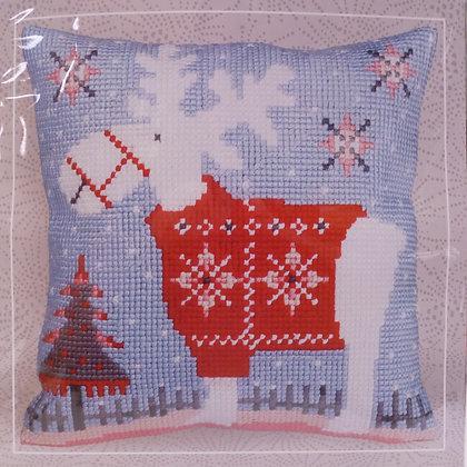 Printed Canvas Cushion Kit :: Christmas Deer
