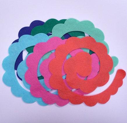 Die Cut Packs :: 3D Flower II :: Tropical