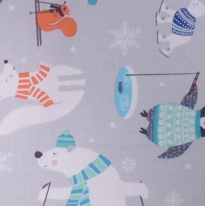 Fabric :: Snow Happy :: Winter Woolies