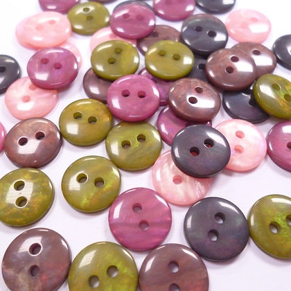 Pearly Pack of Buttons #10