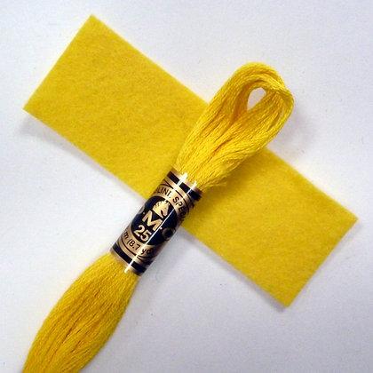 DMC Embroidery Thread :: Banana (307)