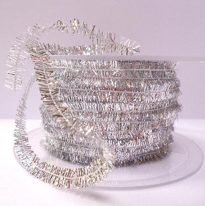 Tiny Tinsel Trim :: Silver