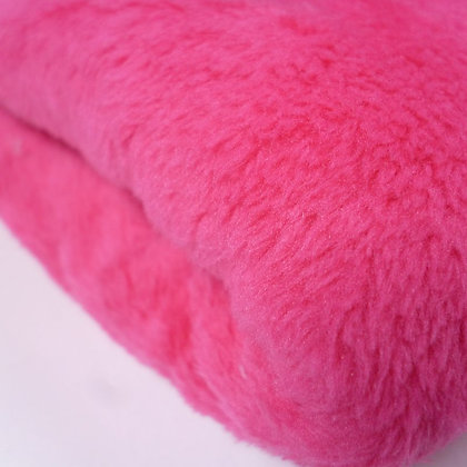 Cuddle Soft Fur Fabric :: Bright Pink