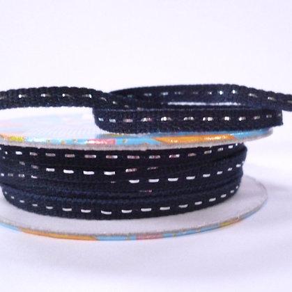 Bright Spools :: Silver Centre Stitch :: Navy
