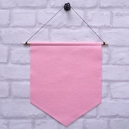 Baby Pink :: Handmade banner for you to decorate
