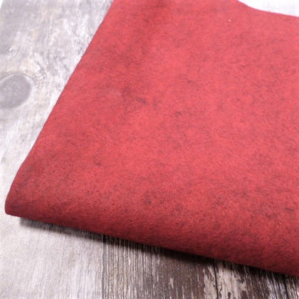 Acrylic Heathered Felt :: 45cm x 100cm :: Red