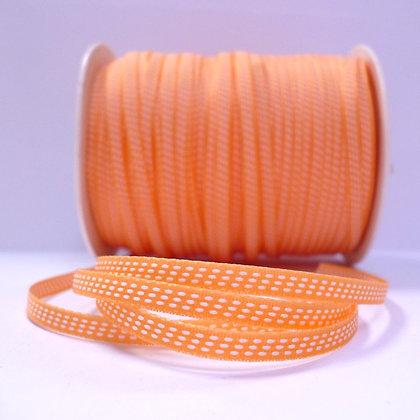 Tiny Centre Stitch Ribbon :: Orange