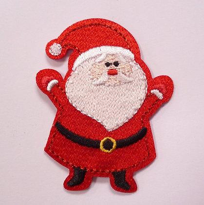 Embroidered Motif :: Wrap Up Warm :: Santa