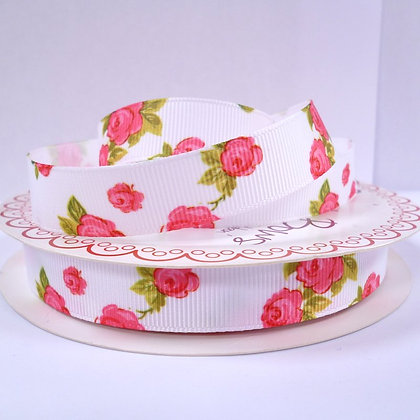 Chintz Ribbon :: White