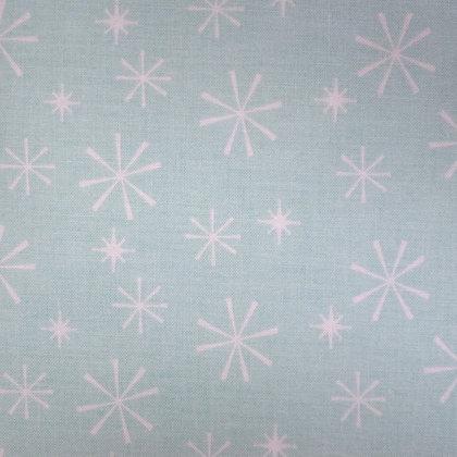 Fabric :: Nutcracker :: Ice Blue Snowflakes