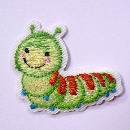 Embroidered Motif :: Cute Insects :: Caterpillar