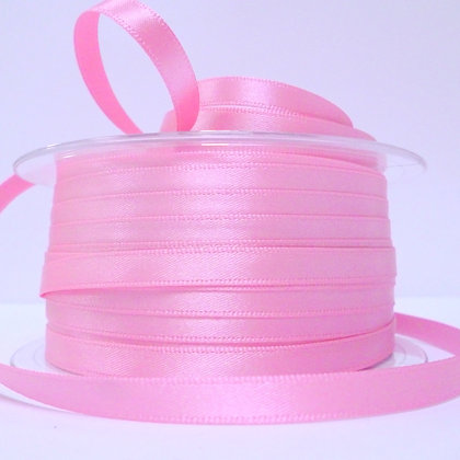 7mm Satin Ribbon :: Pink (052)