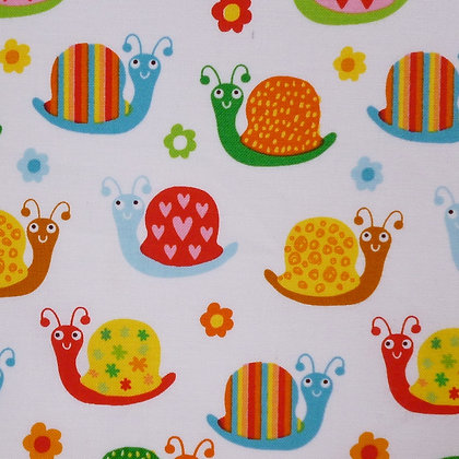 Fabric :: Backyard Buzz  :: Snails