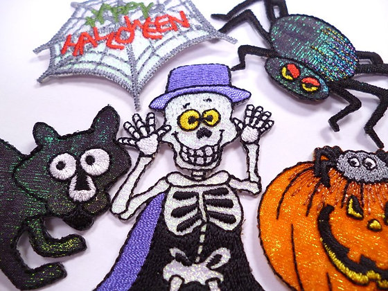 Embroidered Motif :: Halloween
