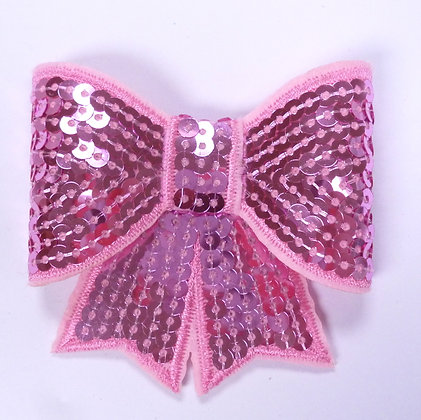 Sparkle Bow :: Large :: Pink