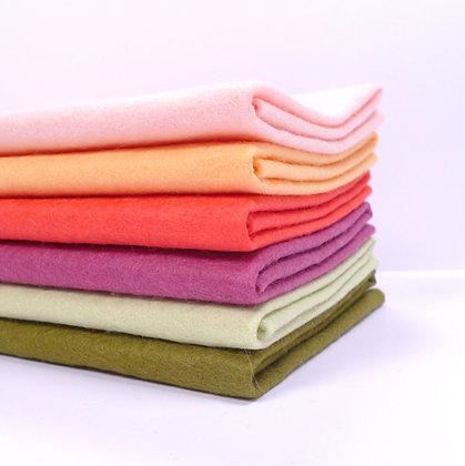 Premium Wool Felt Colour Pack :: Anemone