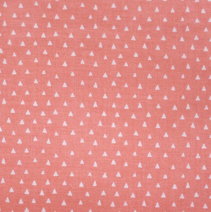 Fabric :: Heart & Soul Mini Triangles :: Coral