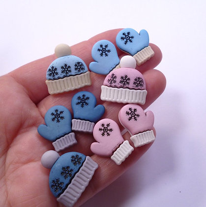 Fantastic Button Packs :: Winter Woolies