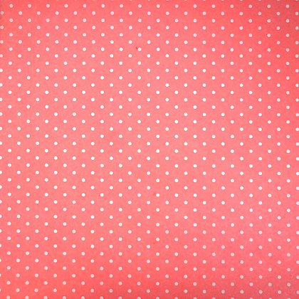Polka Dot Felt Square :: LIGHT CORAL