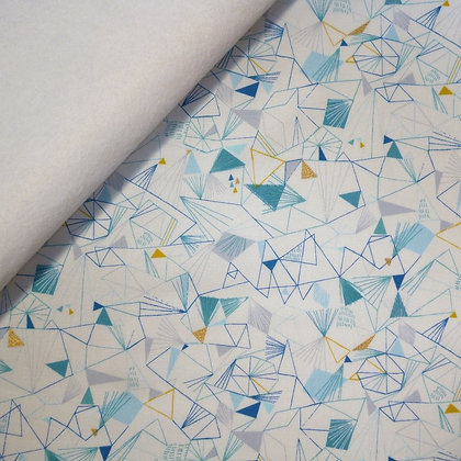 Fabric Felt :: Norrland :: Ice on White LAST FEW