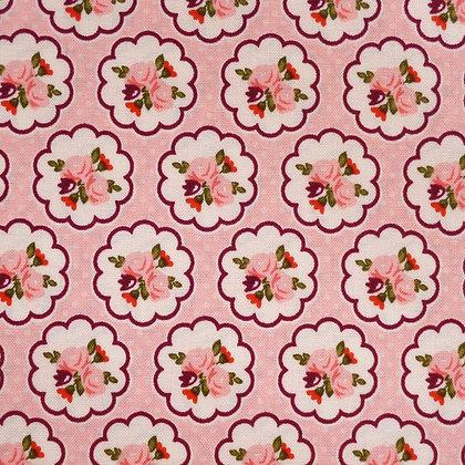 Fabric :: Posy Garden :: Pink Flowers