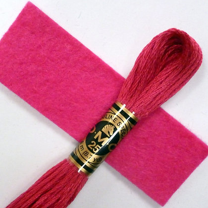 DMC Embroidery Thread :: Fuchsia (600)