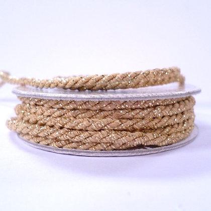Pastel Spools :: Metallic Twist Cord :: Beige