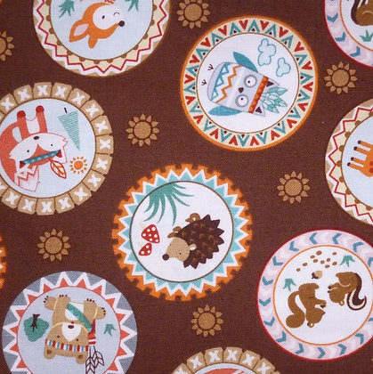 Fabric :: Camp-A-Long Critters :: Critter Patches