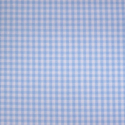 Fabric :: Wide Gingham :: Pale Blue