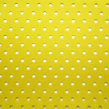 Holey Holes Felt :: Yellow