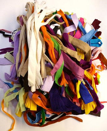 Felt Remnant Pack :: Multi-Coloured Strips