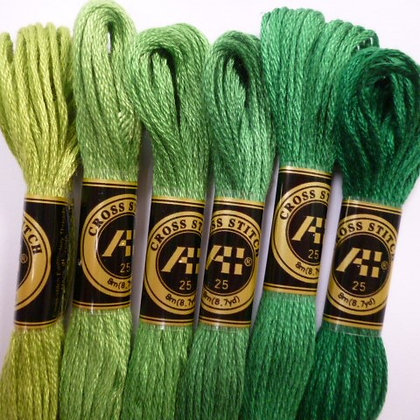 Christmas Thread Pack :: Greens