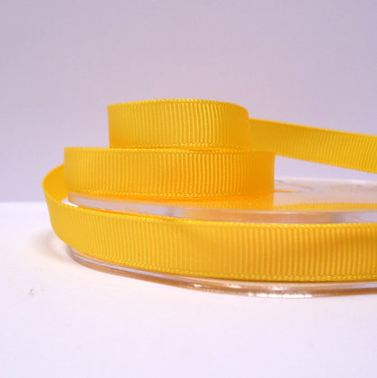 10mm grosgrain :: by the metre :: Yellow