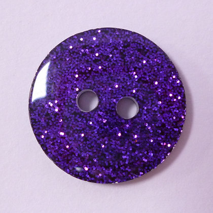 Colour Glitter Buttons :: LARGE :: Purple