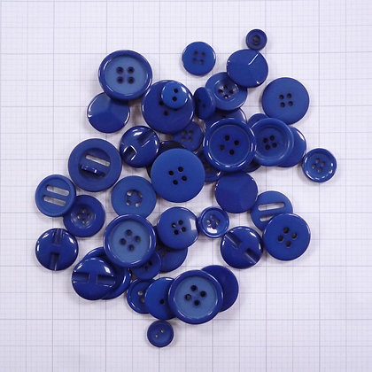 Dyed Buttons By Weight :: Navy