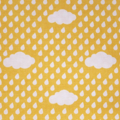SALE Fabric :: Bloom Where You're Planted :: Yellow Clouds