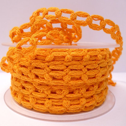 French Knit Chain :: Golden Yellow