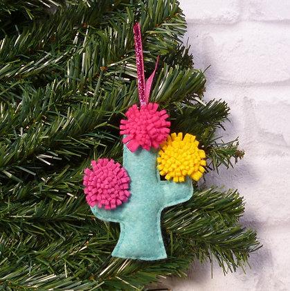 Cactus (Bright) Christmas Decoration Kit