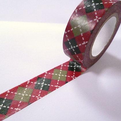Washi Tape roll :: Argyle