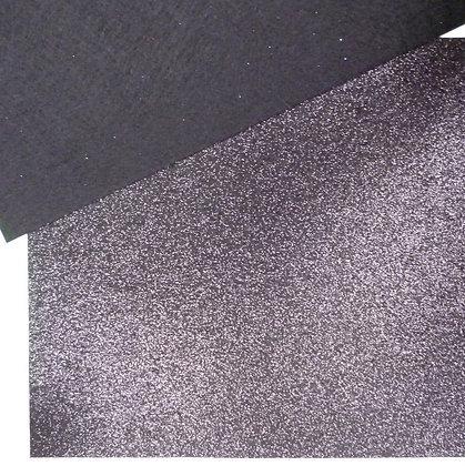 Glitter Felt :: Black