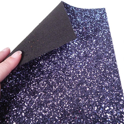 Chunky Glitter sheet :: Navy