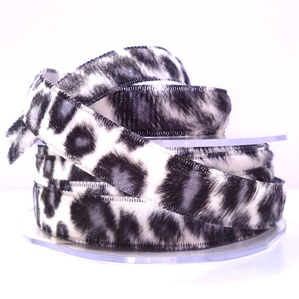 Animal Print Ribbon :: Snow Leopard