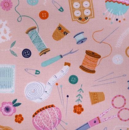 Fabric :: Stitches :: Blush Haberdasahery