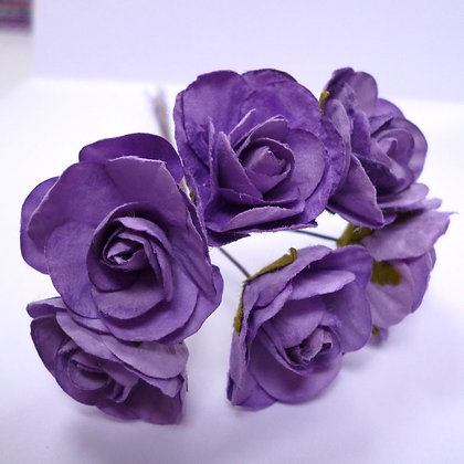 Paper Wild Roses :: Lilac