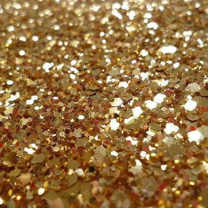 Benefit 2 :: spend £25 :: Free Chunky Glitter Sheet YELLOW GOLD