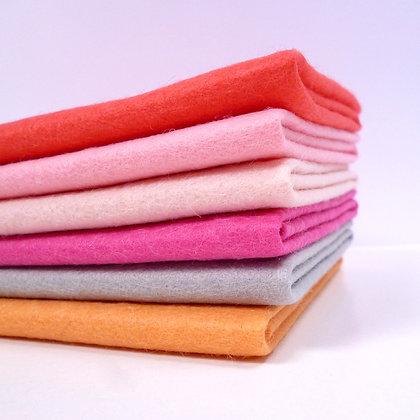 Premium Wool Felt Colour Pack :: Golden Arrow
