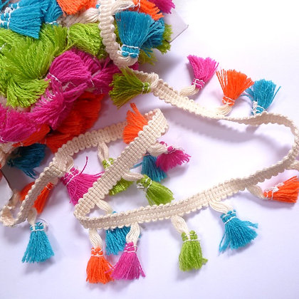 Tassel Trim :: Neon Brights