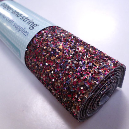 Medium Glitter roll :: Matt :: Vintage Bouquet